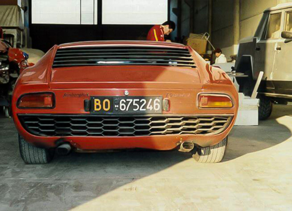 1968 - Lamborghini Miura P400