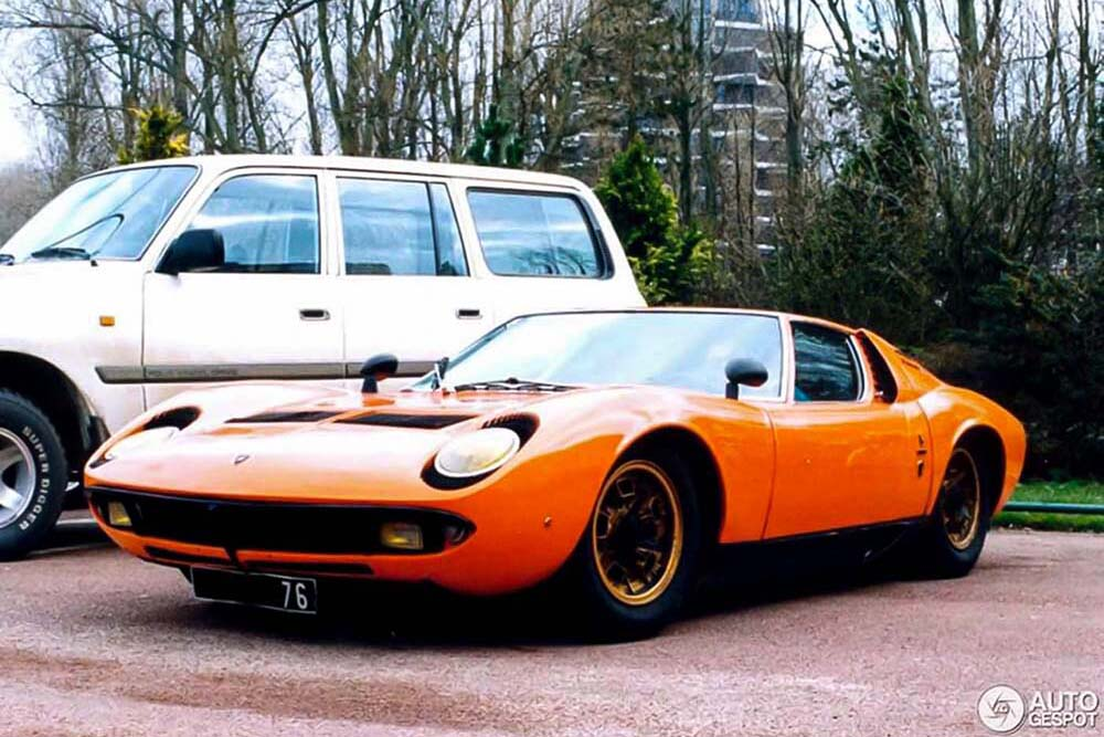1969 - Lamborghini Miura P400 S