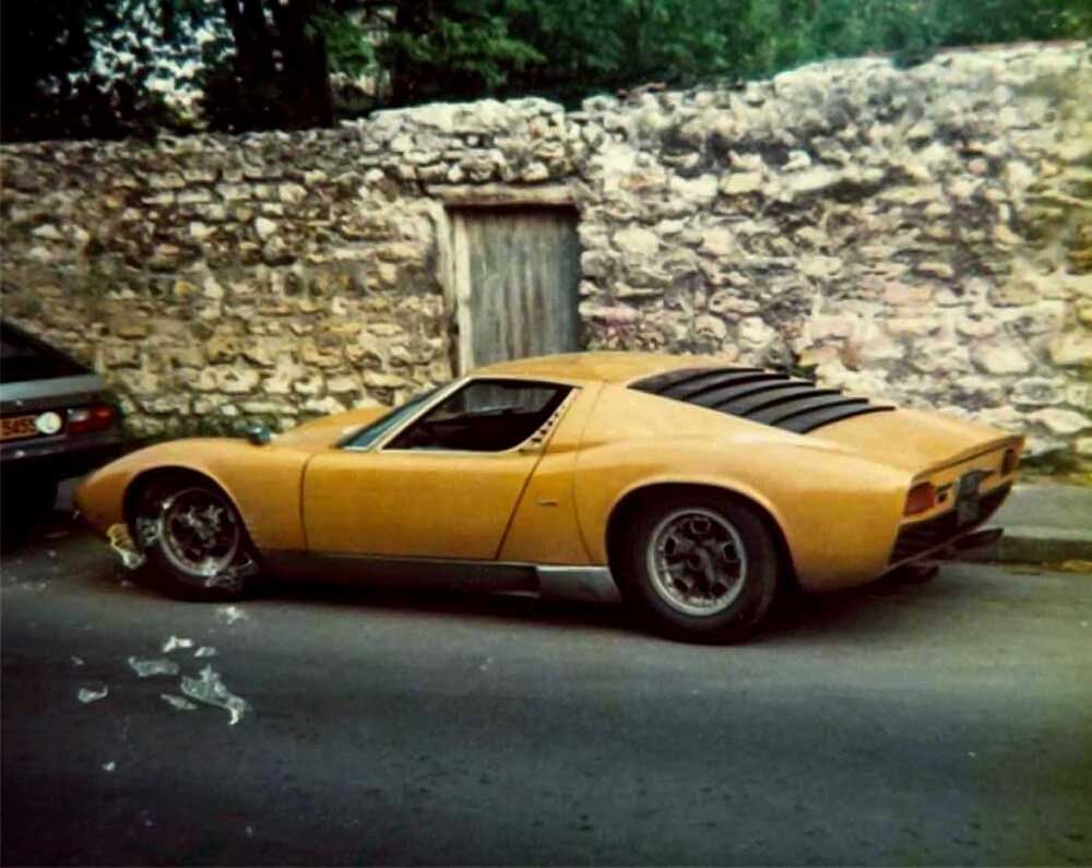 1970 - Lamborghini Miura P400 S