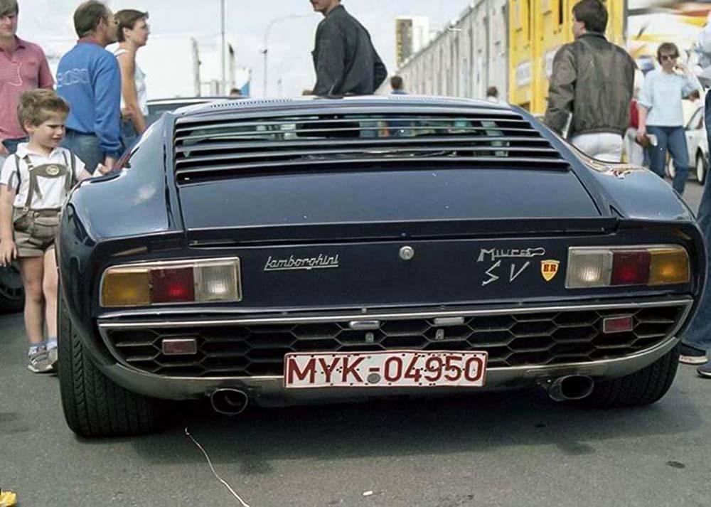 1971 - Lamborghini Miura P400 SV